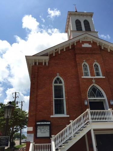 「デクスター・アベニュー・バプティスト教会」は、黒人バプティスト派教会として1877年に創立された。キング牧師が着任したのは1954年。
