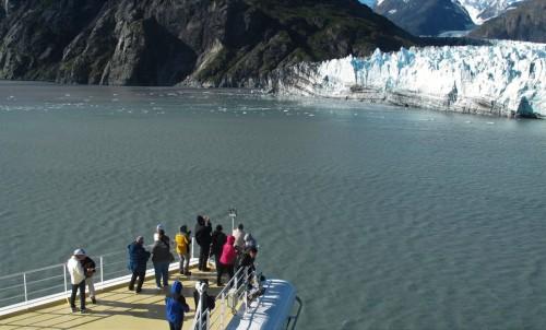 氷河接近!