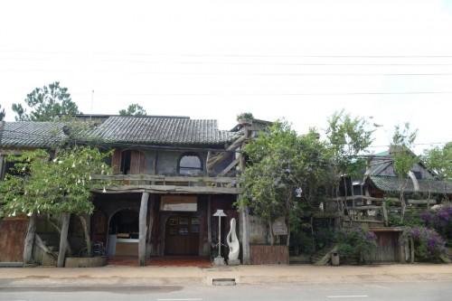 最近では珍しいベトナムの古民家 (C)Azusa Shiraishi