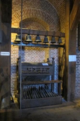 古いカリヨンの原型(アムステルダム西教会)