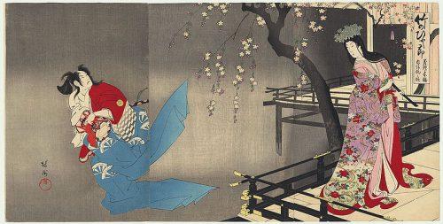 Yōshū Chikanobu Yoshitsune Sembon Zakura.jpg