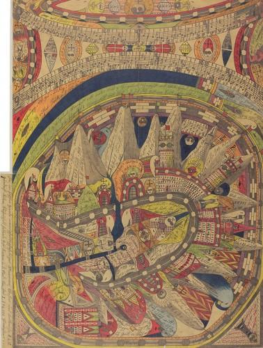 《ネゲルハル〔黒人の響き〕》1911年 ベルン美術館アドルフ・ヴェルフリ財団蔵(C)Adolf Wolfli Foundation,museum of Fine Arts Bern