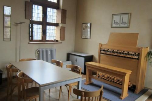 練習用楽器と練習室(メッヒェレン・王立カリヨン学校)