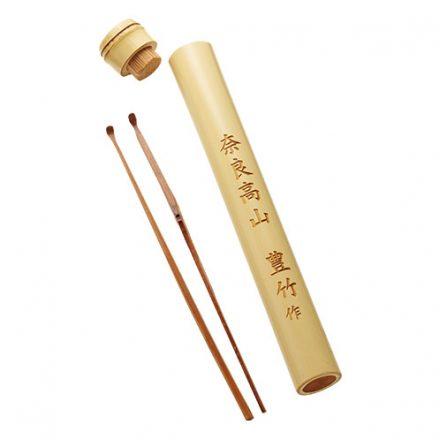特製の竹の筒に2本セット。
