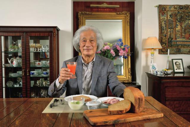 名指揮者・飯守泰次郎さんの朝めし自慢「パンなら全粒粉100%、ご飯なら発芽玄米です」