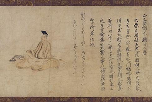 歌聖・柿本人麿像から和歌と古筆の世界へ誘う《人麿影供900年 歌仙と ...
