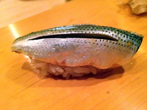 後楽寿司 やす秀のこはだ