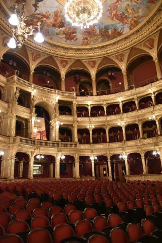ハンガリー国立歌劇場内