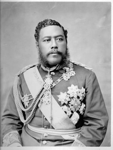 ハワイ王国第7代国王カラカウア(Wikipedia)