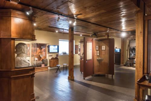 博物館では運河やオタワの街の歴史について詳しく学べる