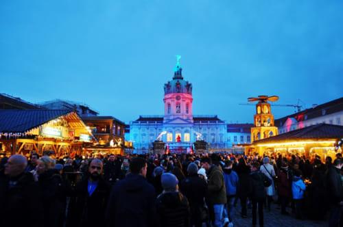 シャルロッテンベルグ宮殿のクリスマスマーケット