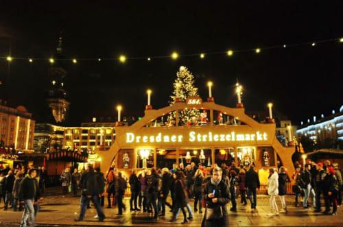 ドレスデンのStriezelmarkt