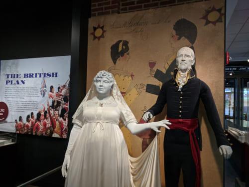 生涯仲良く連れ添ったといわれるアンドリュー・ジャクソン大統領とレイチェル夫人