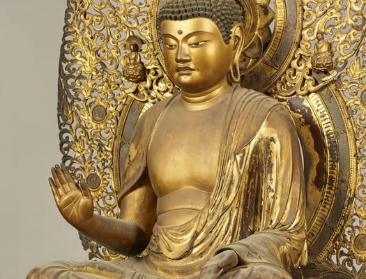 重要文化財 「釈迦如来坐像」 行快作 鎌倉時代・13世紀 京都・大報恩寺蔵