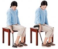 靴を脱ぎ履きするときに座れるイス