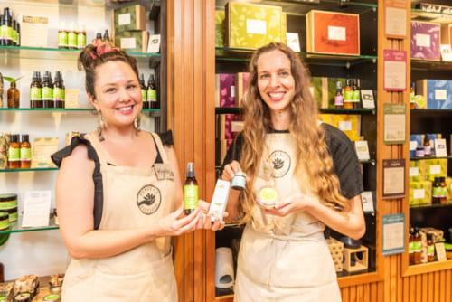 スキンケアやヘアケアなどの製品が数多く揃う。<Perfect Potion>230 Albert St, Brisbane City QLD 4000