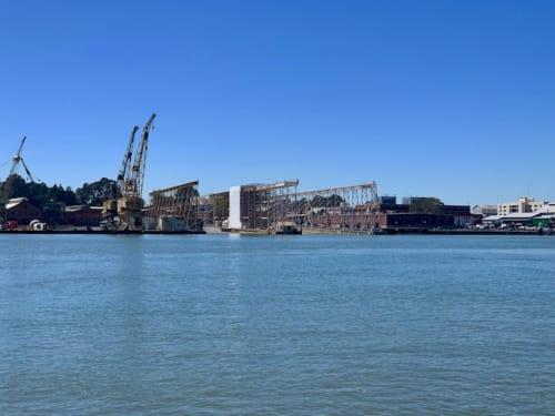 昔の海軍基地