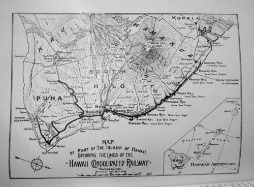 ハワイ統合鉄道路線図