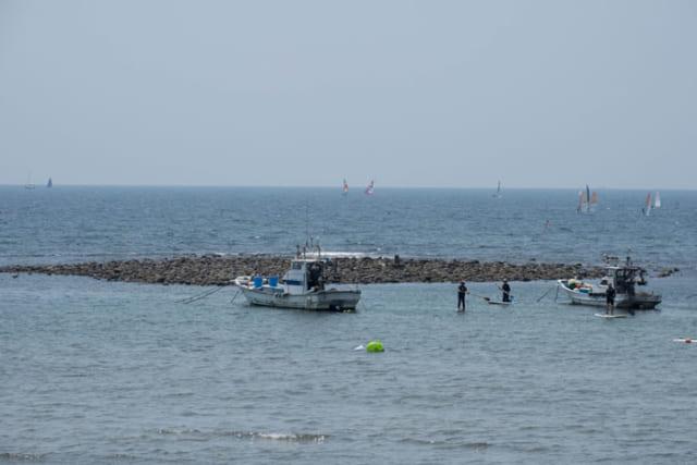 往時には鎌倉の物流拠点だった和賀江島