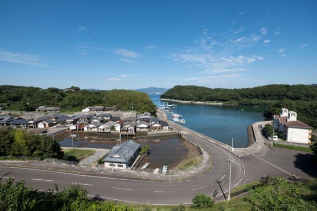 かつて国際貿易港として栄えた横瀬浦