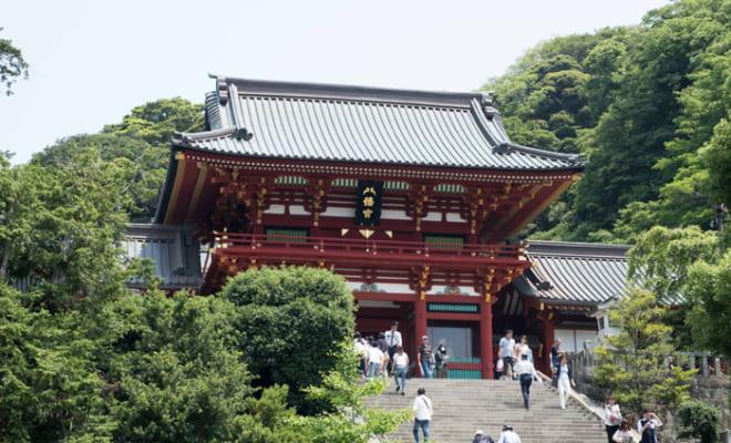武士の都 鎌倉を象徴する鶴岡八幡宮