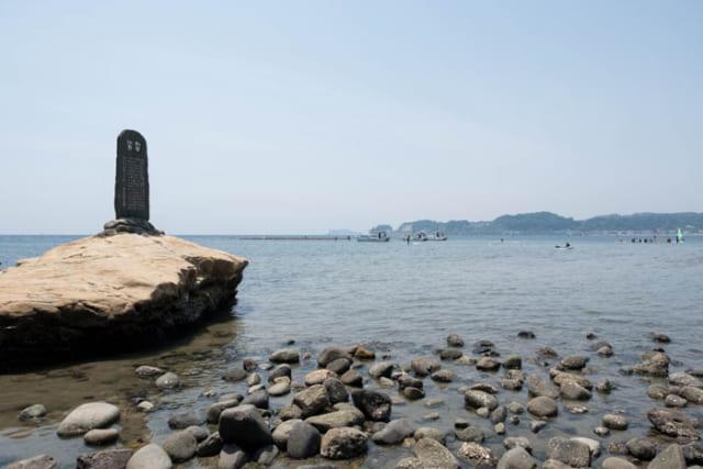 者たちがバーベキューをしていたのは和賀江島の故地だった。