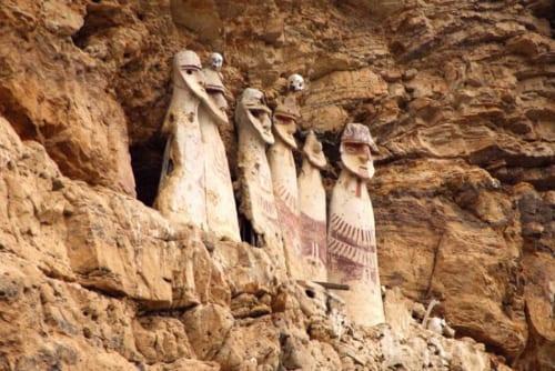 人型をした「サルコファゴス・デ・カラヒア(カラヒアの石棺)」