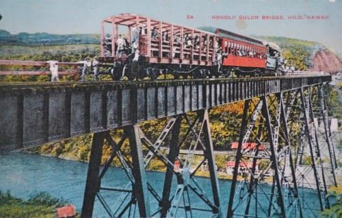 ハマクワライン、ホノリイ渓谷橋