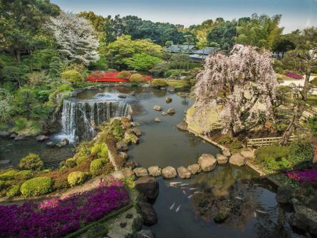 ホテルニューオータニ日本庭園
