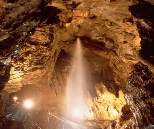 東海地方最大級の観光鍾乳洞 (静岡県・奥浜名湖商工会)