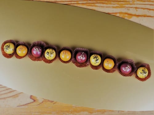 「カラー芋」/南風農菓舎・デザートハウス(B2F) 800円