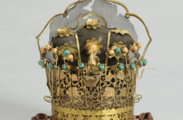 礼冠(玉冠)江戸時代 京都国立博物館蔵