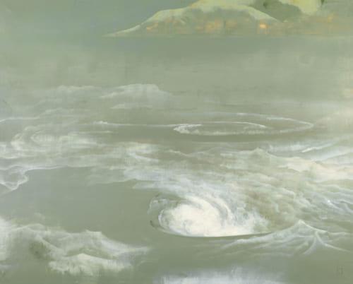 奥村土牛《鳴門》1959(昭和34)年 絹本・彩色 山種美術館蔵