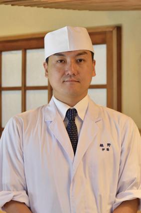 調理指導 伊藤啓悟さん(『神楽坂 割烹 越野』料理長)