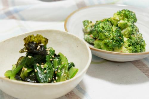 定番野菜で簡単減塩おかず2選