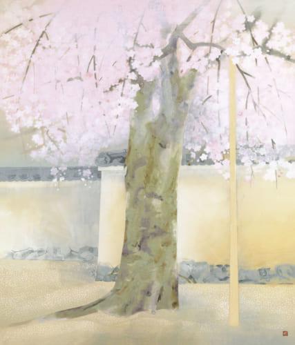 奥村土牛《醍醐》1972(昭和47)年 絹本・彩色 山種美術館蔵
