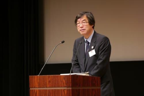 「2020年の東京オリンピック・パラリンピックを、日本が誇る地域性豊かで多様な文化を発信する千載一遇のチャンスと捉え、全国津々浦々で文化プログラムを実施し、1人でも多くの方々に文化の素晴らしさや魅力を体験していただきたい」と意気込みを語る村田善則文化庁次長