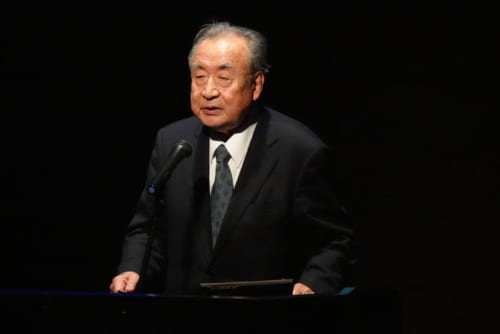 ふるさとのまつり実行委員会委員長の懸田弘訓氏