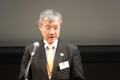文化庁次長の中岡 司氏