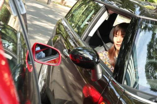 街で見かけた、迷惑なドライバー