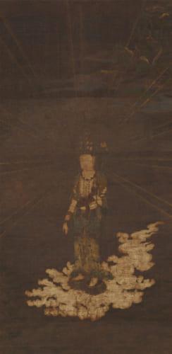 重要文化財 十一観音菩薩像(部分) 奈良・東大寺蔵