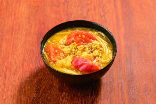 「サンラータン味噌汁」