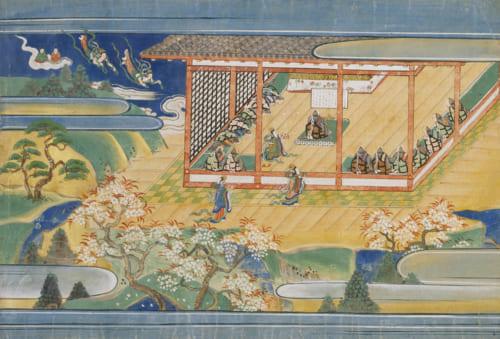 二月堂縁起上巻(部分) 奈良・東大寺蔵