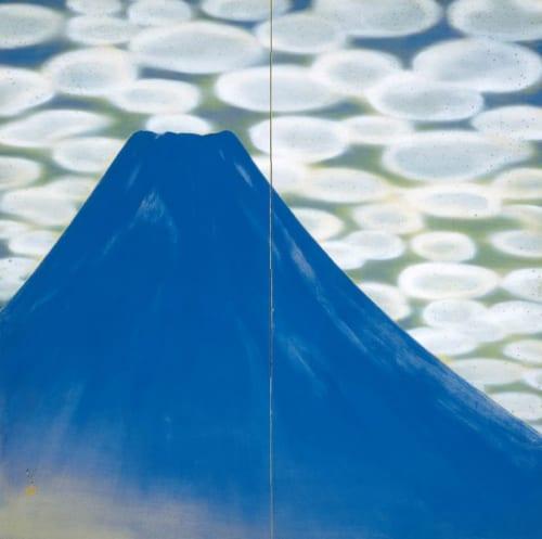 川端龍子《創夜》昭和9年(1934)足立美術館蔵