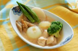 野菜だしの和風ポトフ