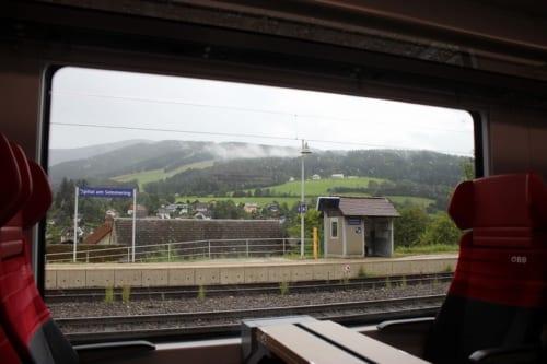 車窓からの風景