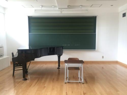 音楽室は時間単位で借りることが可能。ダンスサークルなどの練習場にぴったり