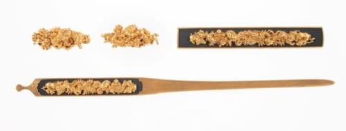 十二支図三所物 伝 後藤乗真 室町時代(16世紀)  静嘉堂文庫美術館蔵