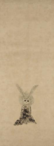 徳川家光《兎図》 個人蔵