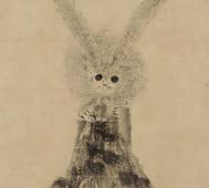 徳川家光 《兎図》 個人蔵